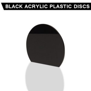 Black Acrylic Disc