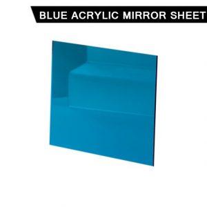 Blue Acrylic Mirror Sheet