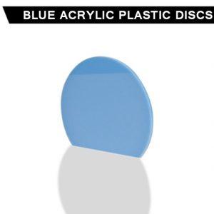 Blue Acrylic Discs