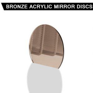 Bronze Acrylic Mirror Disc