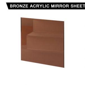 Bronze Acrylic Mirror Sheet