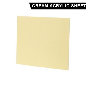 Cream Acrylic Sheet