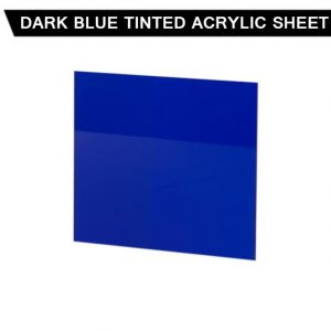Dark Blue Tinted Acrylic Sheet