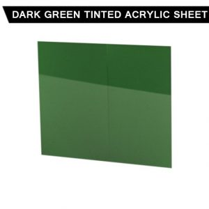 Dark Green Tinted Acrylic Sheet