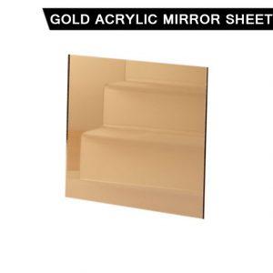Gold Acrylic Mirror Sheet