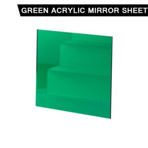 Green Acrylic Mirror Sheet