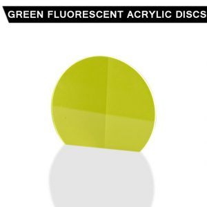 Green Fluorescent Acrylic Disc