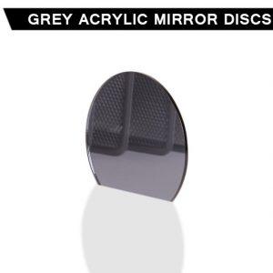 Grey Acrylic Mirror Disc