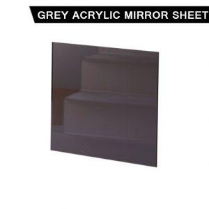 Grey Acrylic Mirror Sheet