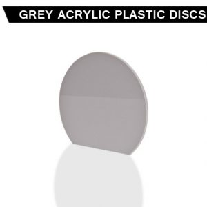 Grey Acrylic Disc