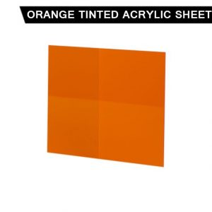 Orange Tinted Acrylic Sheet