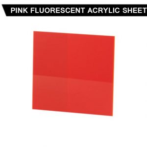 Pink Fluorescent Acrylic Sheet