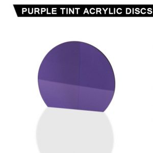 Purple Tint Acrylic Disc