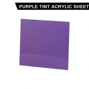 Purple Tint Acrylic Sheet