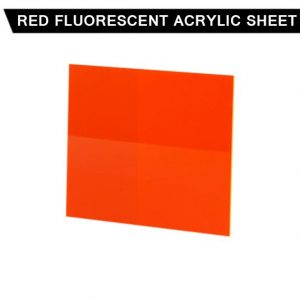 Red Fluorescent Acrylic Sheet