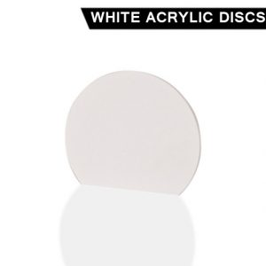 White Acrylic Disc