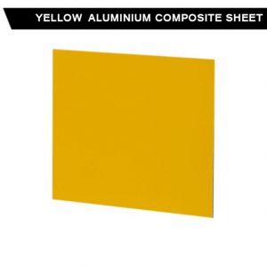 Yellow Aluminium Composite Sheet