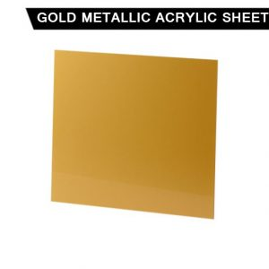 Gold Metallic Acrylic Sheet