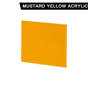 Mustard Yellow Acrylic