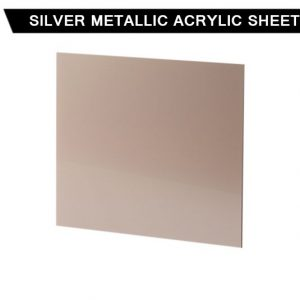 Silver Metallic Acrylic Sheet