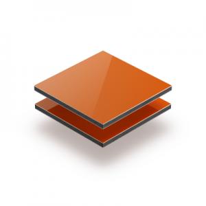 3mm Orange Aluminium Composite Sheet Cut To Size