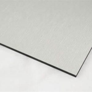 3mm Silver Metallic Aluminium Composite Sheet Cut To Size