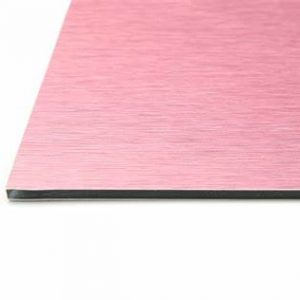 3mm Baby Pink Aluminium Composite Sheet Cut To Size