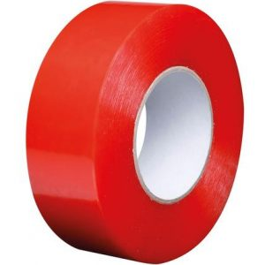 Clear Double Sided Polyester Tape 50M