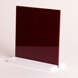 Burgundy Acrylic Sheet