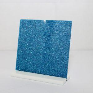 Ice Blue Glitter Acrylic Sheet