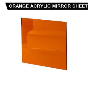 Orange Acrylic Mirror Sheet