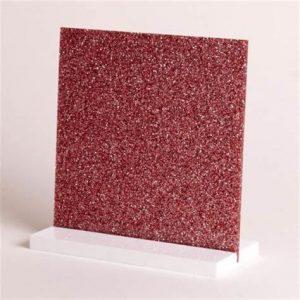 Pink Glitter Acrylic Sheet