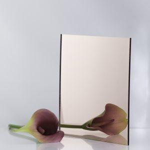 Rose Gold Acrylic Mirror Sheet