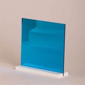 Sky Blue Acrylic Mirror Sheet