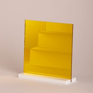 Yellow Acrylic Mirror Sheet